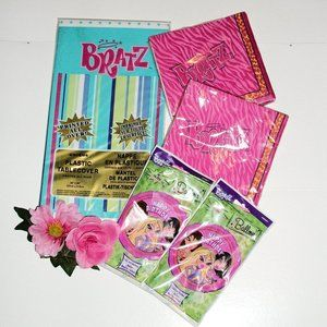 BRATZ Party Decorations NIP Tablecloth Napkins